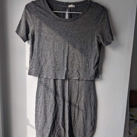 ☀️4/$30 grey t-shirt dress